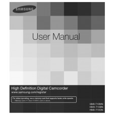 Samsung HMX-T10 Flash Digital Camcorder
