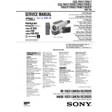 Sony CCD-TR317 Video8 Analog Camcorder
